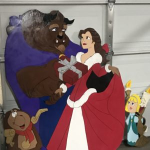Beauty and the Beast set of 3.